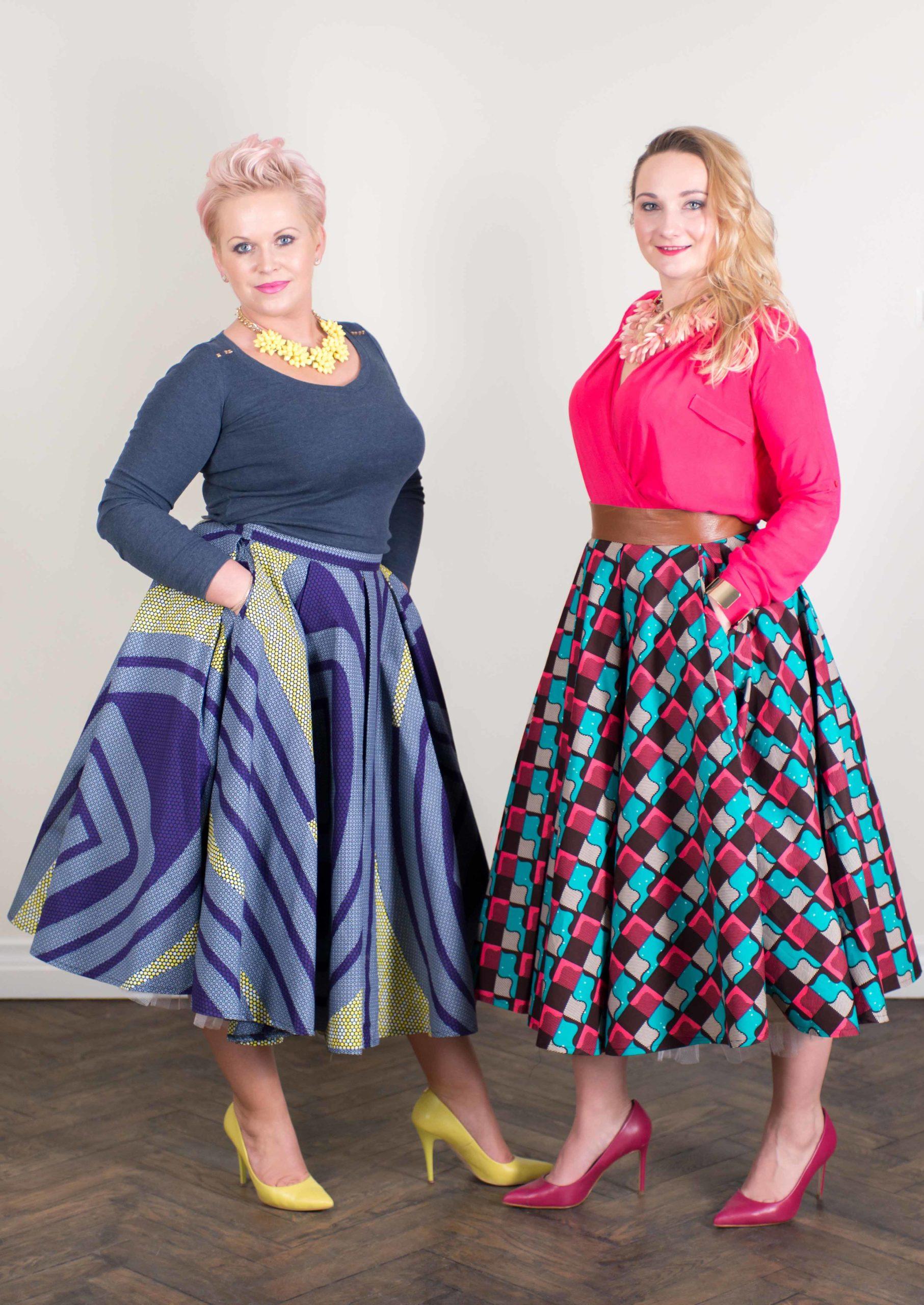 Taye-africanprint-skirt-standout-beproud