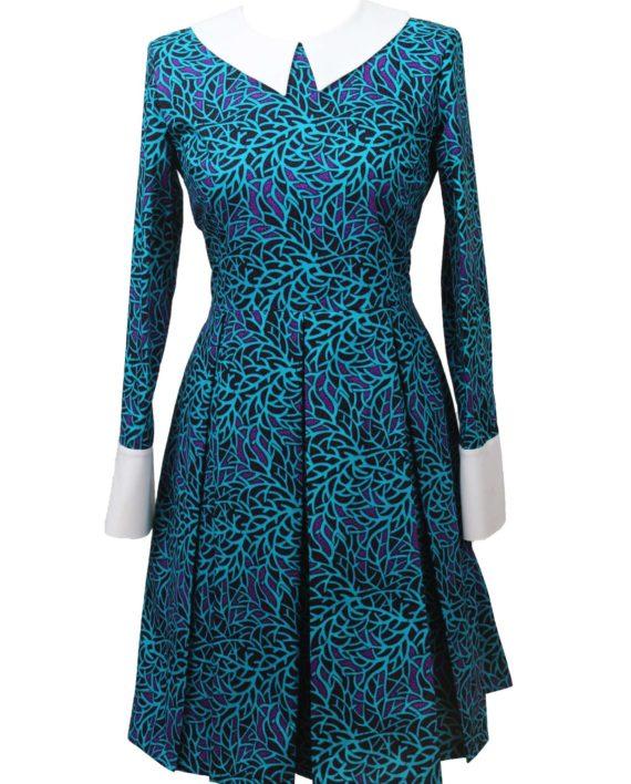 Taye-africanprints-dress-peterpancollar-ubrania-afrykanskie-moda-w-warszawa-skleponline-zakupyonline