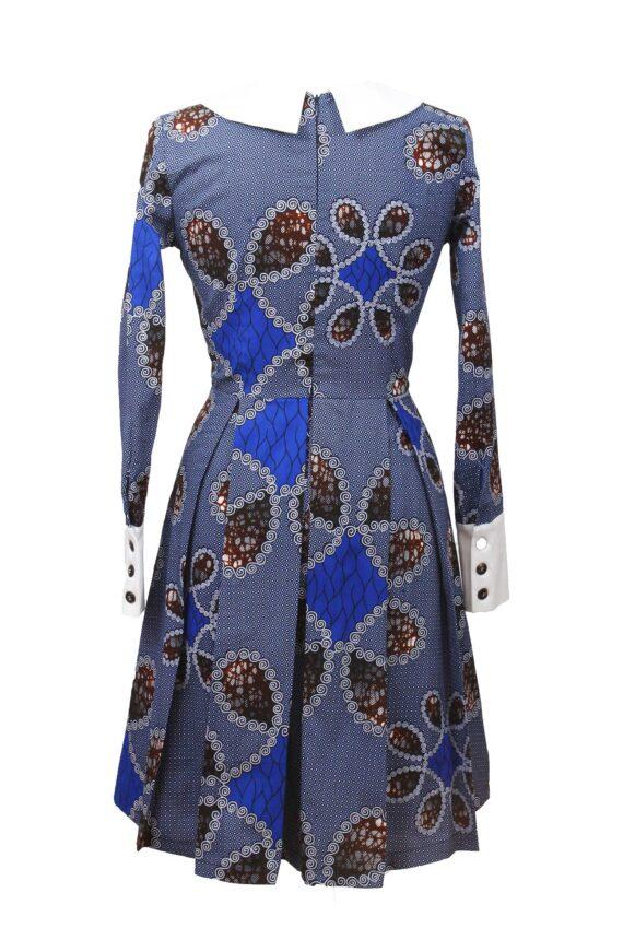 Taye-africanprints-dress-peterpancollar-ubrania-afrykanskie-moda-w-warszawa1