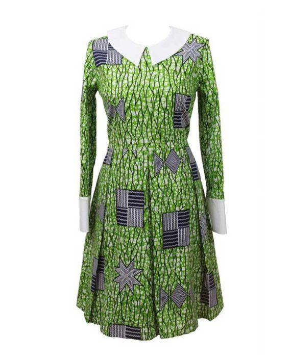 rasheedat-collar-dress-african-print-afryka-sukienka-ubrania-damska