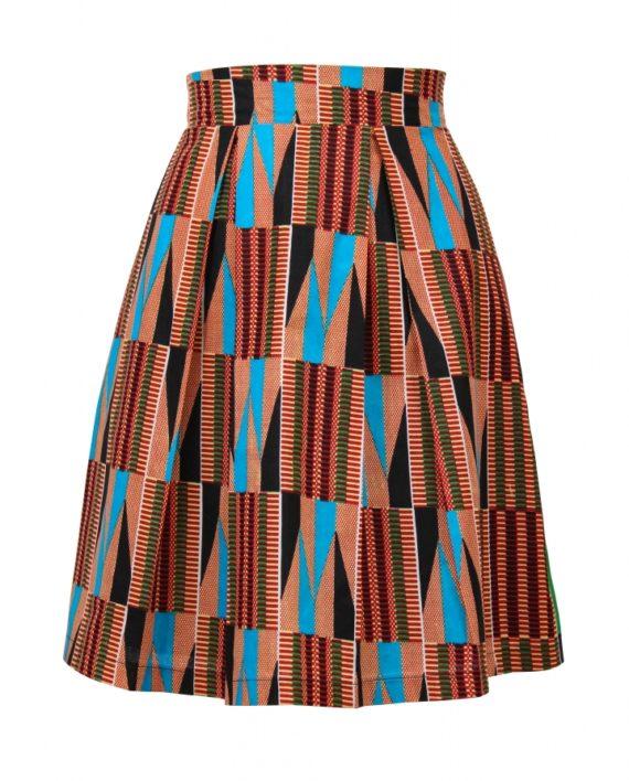 Taye-africanprint-pleatskirt-warszawa-kente