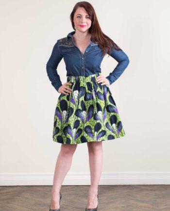 Taye-africanprints-flare-skirt-spodnice-afrykanskie-moda-w-polsce-zakupyonline
