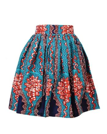 Taye-africanprints-flare-skirt-spodnice-afrykanskie-moda-w-polsce-zakupyonline-skleponline-blue