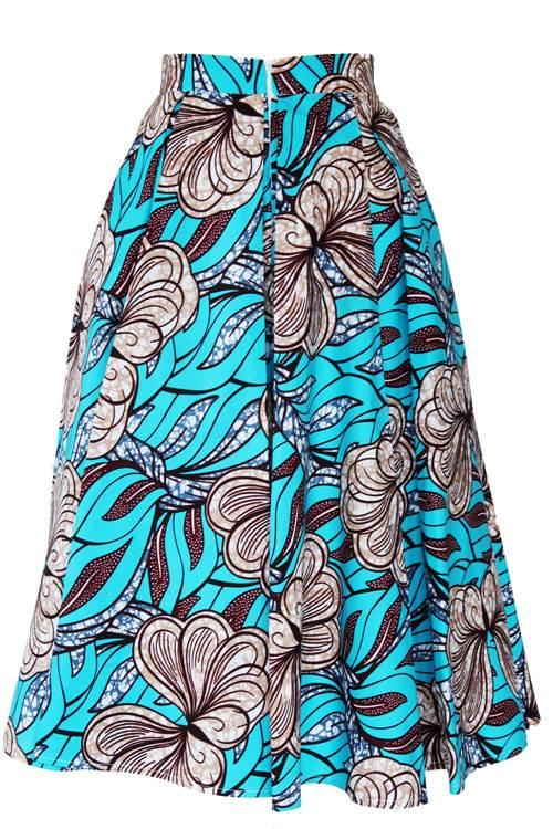 TAYE-african-print-midi-skirt-afrykanskie-midi-Spodnice-moda-damskie-blue-flower2-back