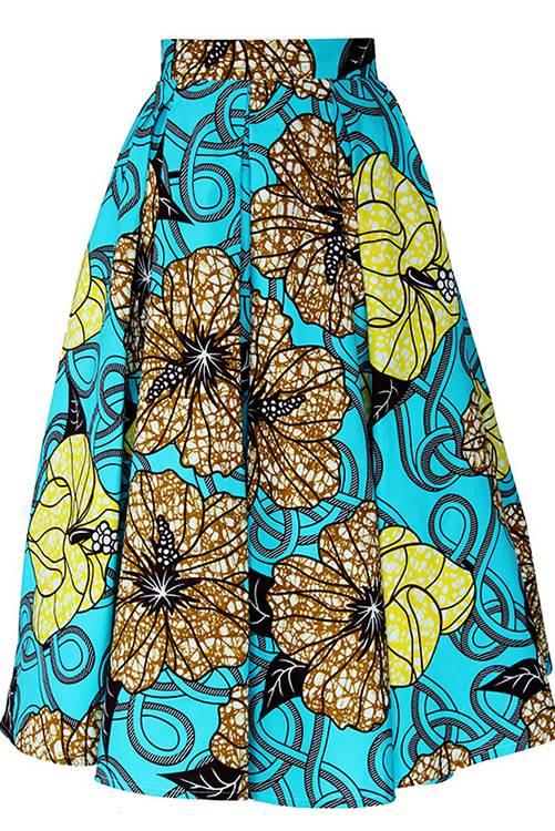 TAYE-african-print-midi-skirt-afrykanskie-midi-Spodnice-moda-damskie-front-new-min