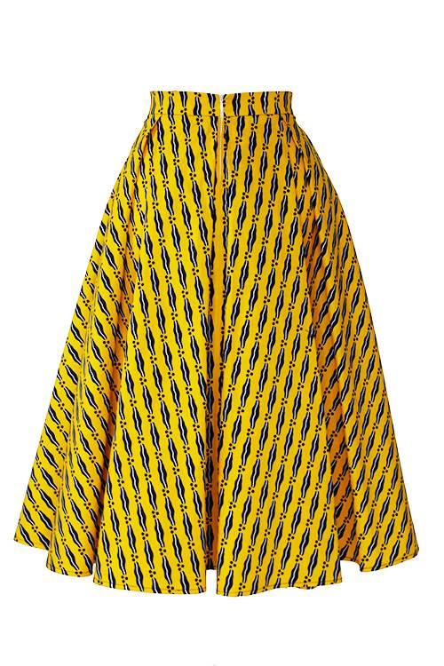 TAYE-african-print-midi-skirt-afrykanskie-midi-Spodnice-moda-damskie-yellow-white-navy-back