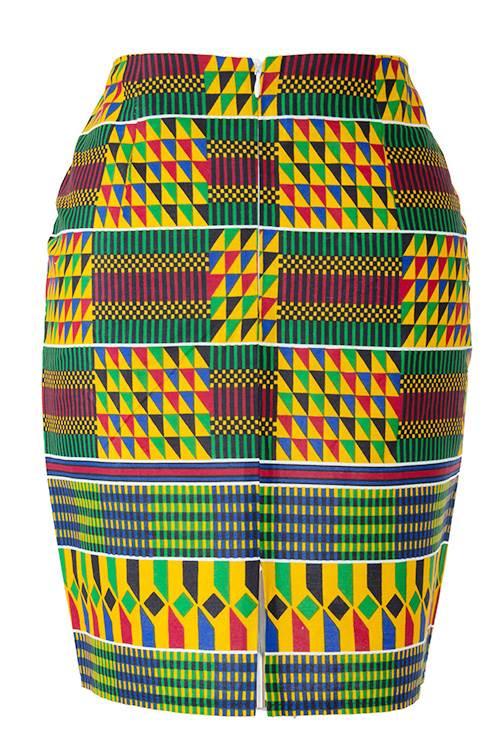 TAYE-african-print-pencil-skirt-afrykanskie-midi-Spodnice-moda-damskie-front-kente-back