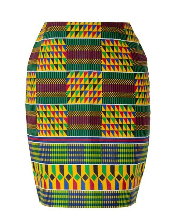 TAYE-african-print-pencil-skirt-afrykanskie-midi-Spodnice-moda-damskie-front-kente-front