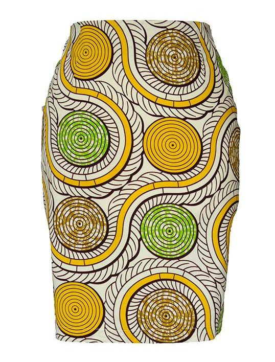 TAYE-african-print-pencil-skirt-afrykanskie-olowkowe-Spodnice-moda-damskie-ring-yellow-and-green-front