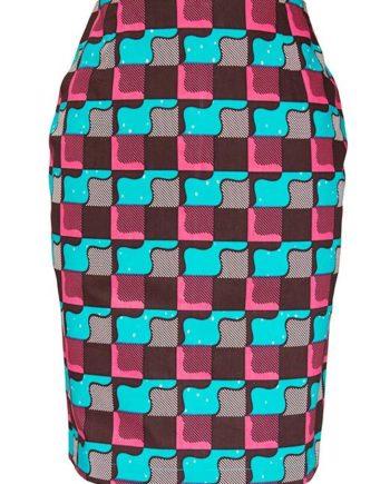 TAYE-african-print-pencil-skirt-afrykanskie-olowkowe-Spodnice-moda-damskie-tetris-front