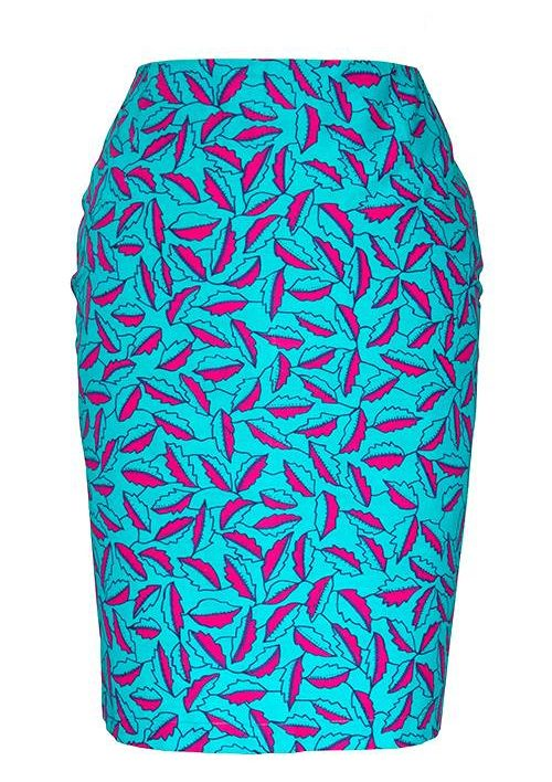 TAYE-african-print-pencil-skirt-afrykanskie-olowkowe-Spodnice-moda-damskie-women-leave-in-pink-front