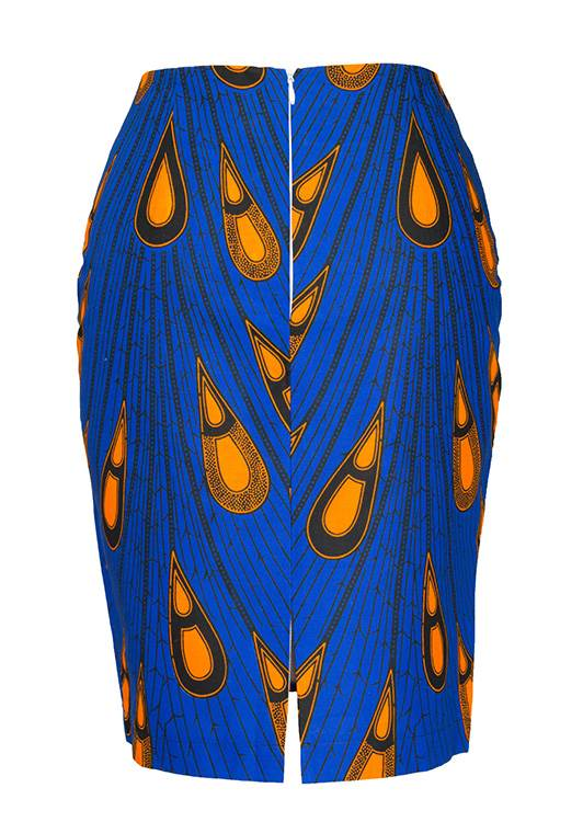 TAYE-african-print-pencil-skirt-afrykanskie-olowkowe-Spodnice-moda-damskie-women-peacock-yellow-and-blue
