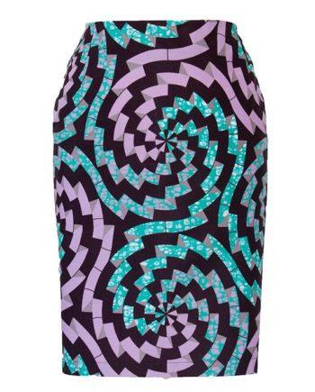 TAYE-african-print-pencil-skirt-afrykanskie-olowkowe-Spodnice-moda-damskie-women-white-viola-green-front