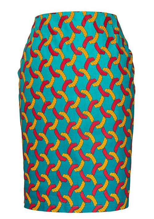 TAYE-african-print-pencil-skirt-afrykanskie-olowkowe-Spodnice-moda-damskie-women-yellow-green-front