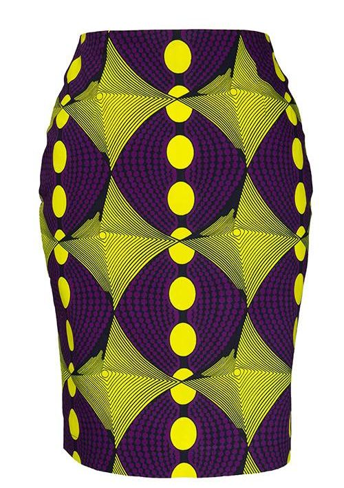 TAYE-african-print-pencil-skirt-afrykanskie-olowkowe-Spodnice-moda-damskie-women-yellow-purple-front