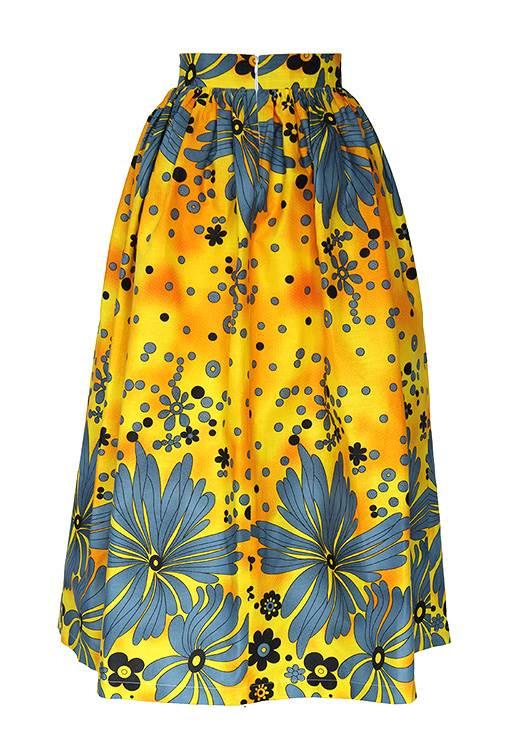 Sunflower Maxi Skirt Taye Shop Now Www Tayelolu Com