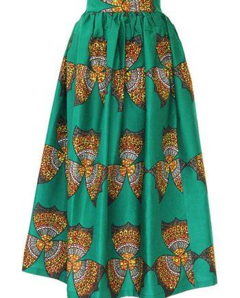 TAYE-african-print-wax-maxi-skirt-spodnice-afrykanskie-maxi-green-yellow