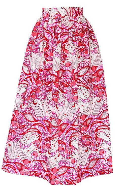 TAYE-african-print-wax-maxi-skirt-spodnice-afrykanskie-maxi-pink-dark-front