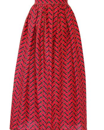 TAYE-african-print-wax-maxi-skirt-spodnice-afrykanskie-maxi-red-black-keys-front