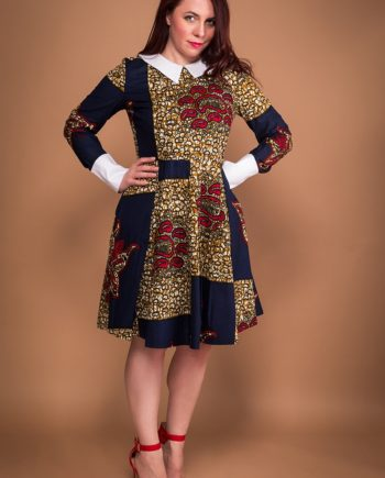 TAYE-african-print-wax-peter-pan-collar-dress-afrykanskie-kolor-sukienka-moda-damskie-full-min