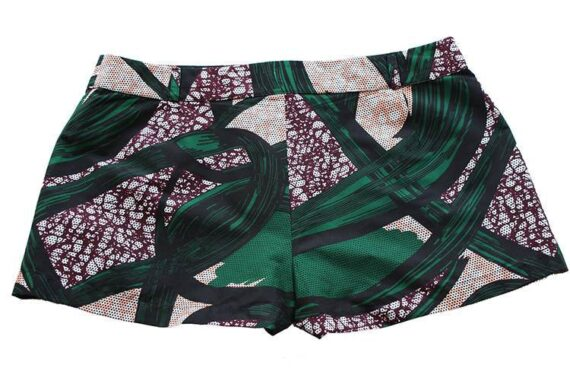TAYE-african-print-wax-sexy-shorts-afrykanskie-kolor-spodnice-moda-damskie-szorty-grey-green-burgundy-back-min