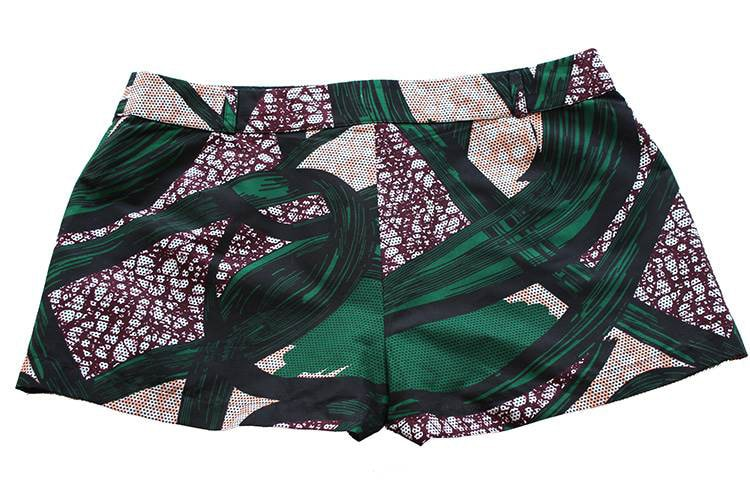 TAYE-african-print-wax-sexy-shorts-afrykanskie-kolor-spodnice-moda-damskie-szorty-grey-green-burgundy-back-min