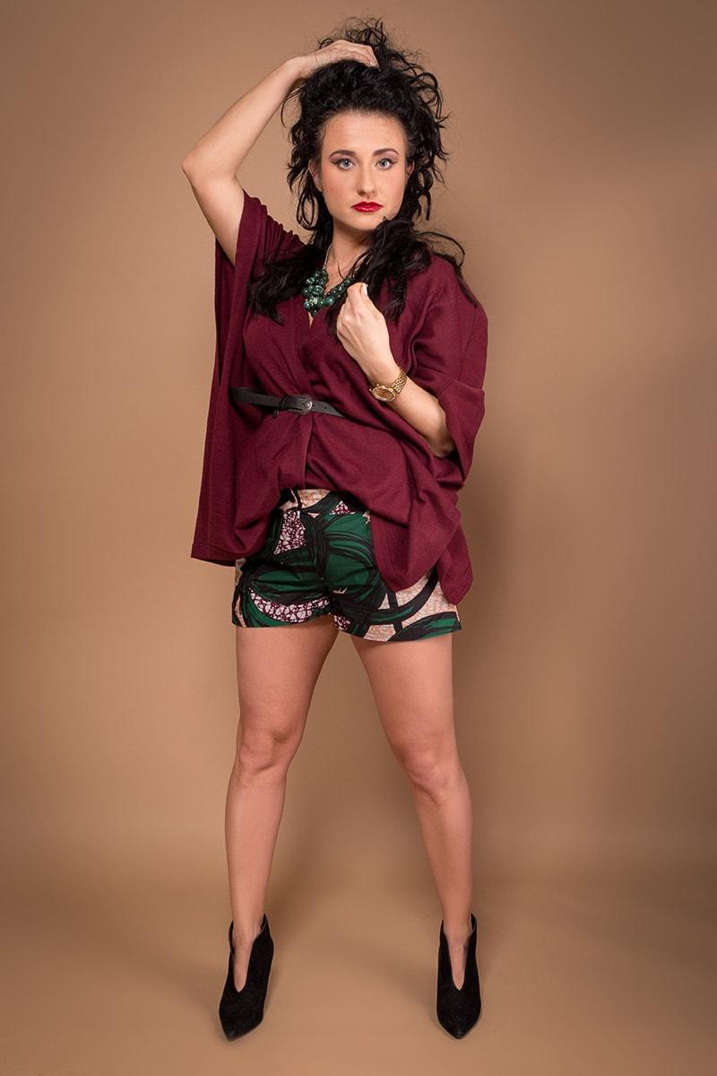 TAYE-african-print-wax-sexy-shorts-afrykanskie-kolor-spodnice-moda-damskie-szorty-grey-green-min