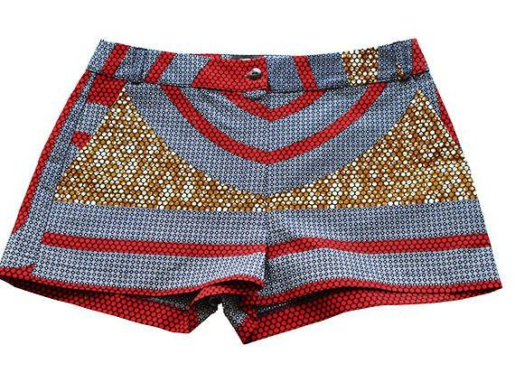 Taye-african-print-shorts-Afrykanskie-szorty-moda-polsce-red-grey-brown-front-other