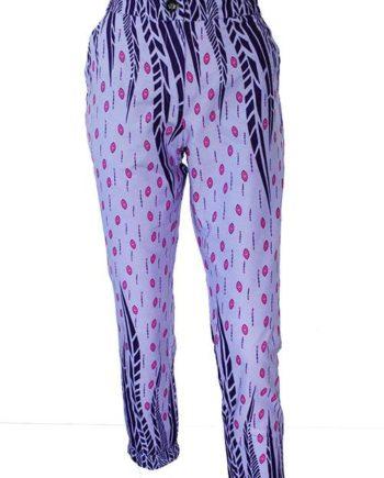 Taye-african-print-trouser-afrykanskie-spodnie-purple-lilac-pink-front