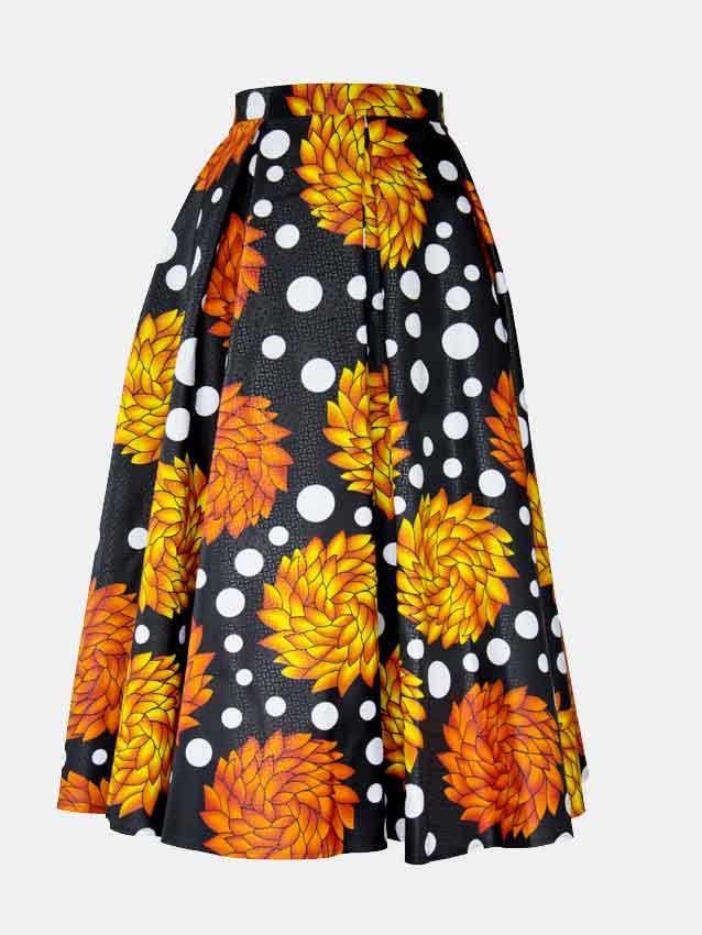 laide-midi-skirt-spodnica-afrykanskie-wzory-ubrania-damska-w-polsce-warszawa-front