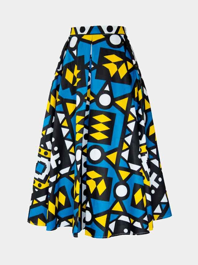 samakaka-pleat-skirt-spodnica-damska-afryka-w-polsce-i-warszawie-front