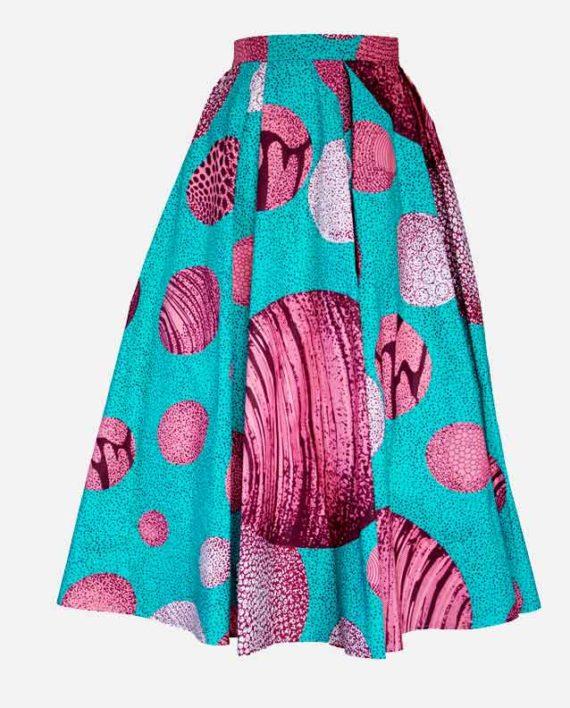 remi-pleat-midi-skirt-spodnica-pilsowana-kobiety-ubrania-afrykanskie-wzory-w-polsce-front
