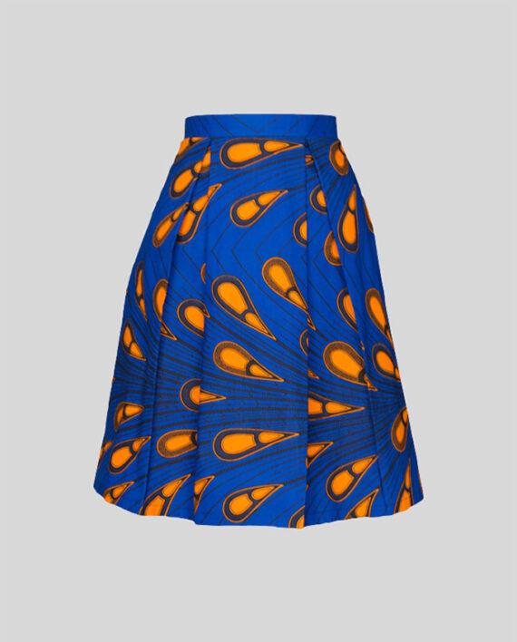 peackcock-pleat-skirt-with-pockets-women-fashion-moda-damska-odziez