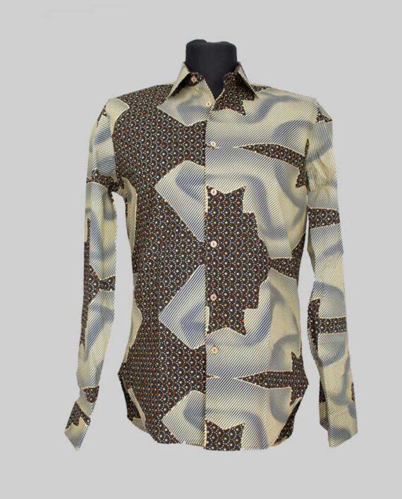 Jaiye-fitted-men's-shirt-dlugi-rekaw-meska-koszula-odziez