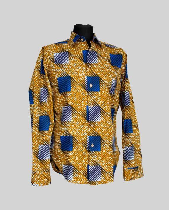 pelumi-african-print-shirt-men's-long-sleeve-shirt-koszula-meska-afrykanskie-koszule-w-polsce