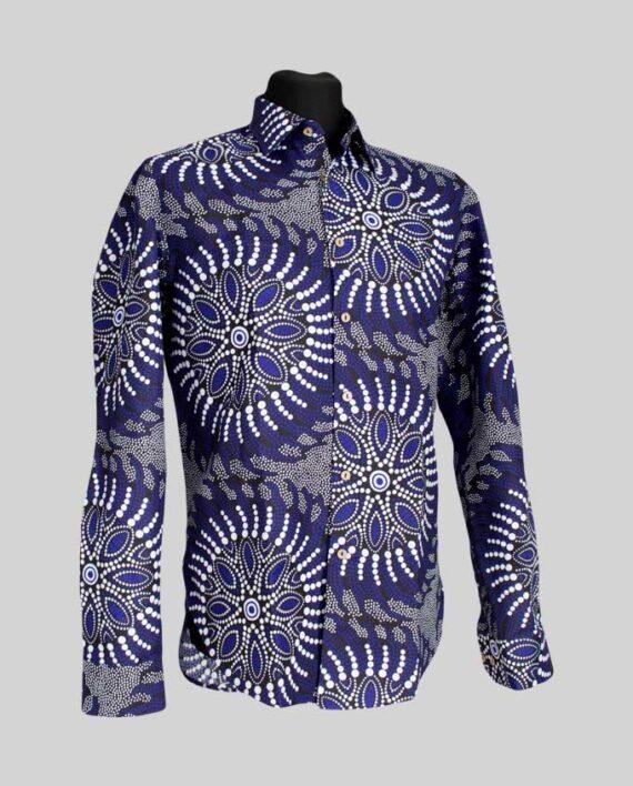 Abaeze-fitted-men's-shirt-long-sleeve-afrykanskie-meska-koszula-w-warszawie-odziez