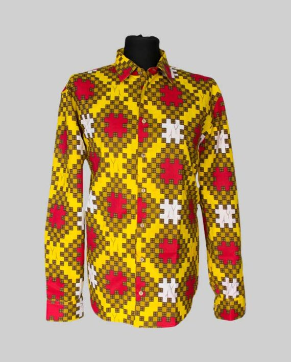 Maduka African print shirt