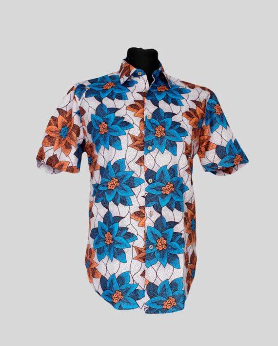 Tejumola-african-print-shirt-short-sleeve-meska-koszula